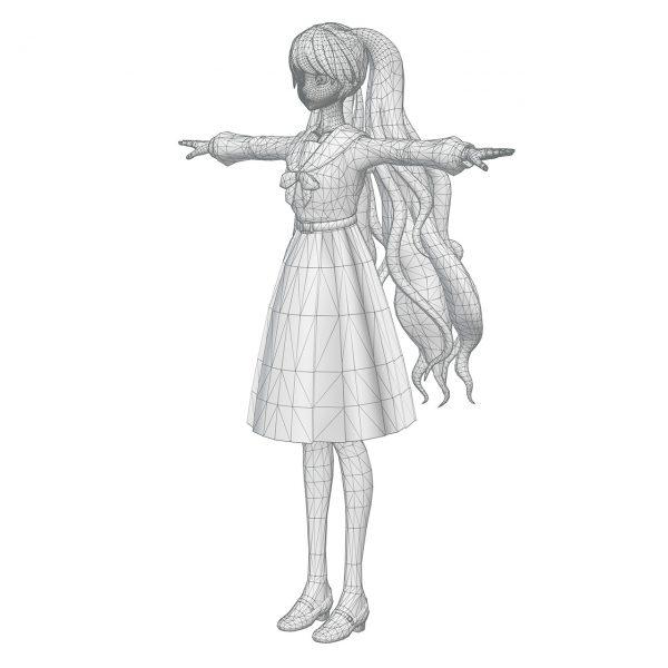 WIP20170324 Hibari-3D